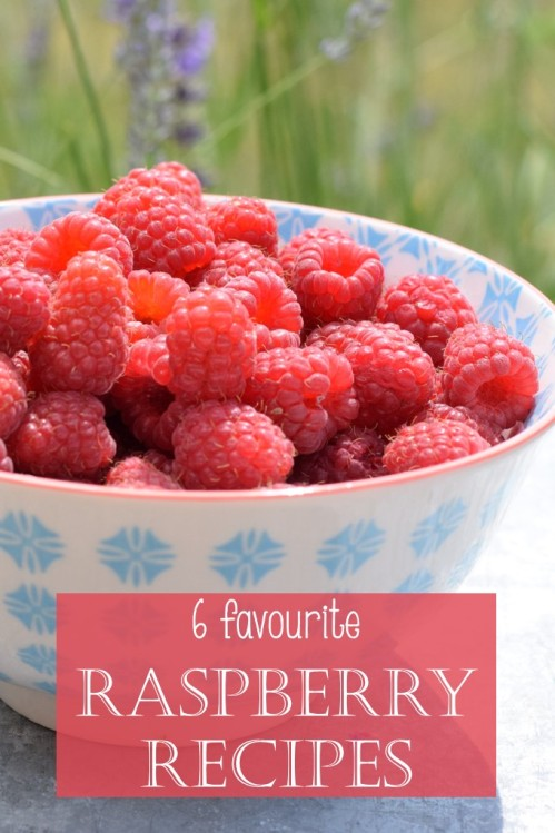 6 favourite raspberry recipes