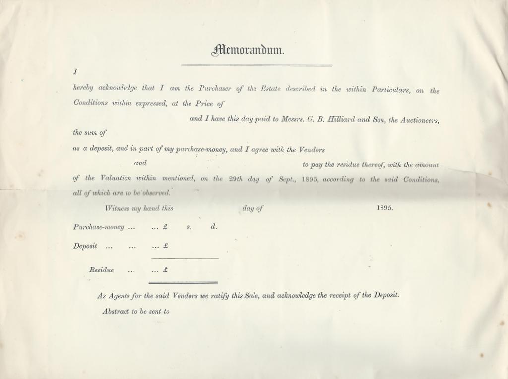 farm sale particulars 1895