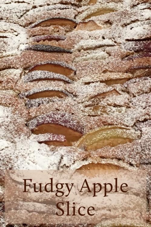 fudgy apple slice