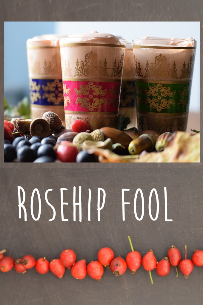 Autumn dessert Rosehip Fool recipe