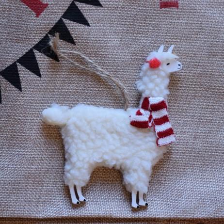 Christmas Decoration trends 2017 Natural World llama
