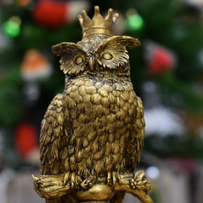 Christmas decoration trends 2017 natural world owl