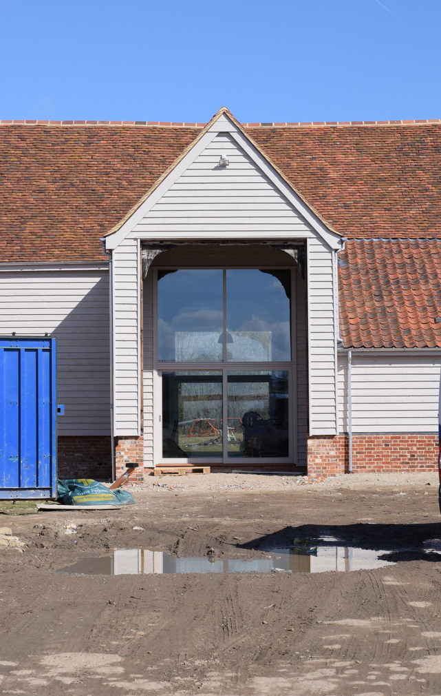 Exterior view of Essex Barn conversion to house