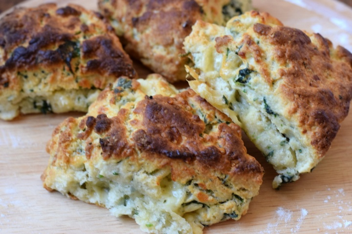 Why it's the best time of year to make Stinging Nettle Scones