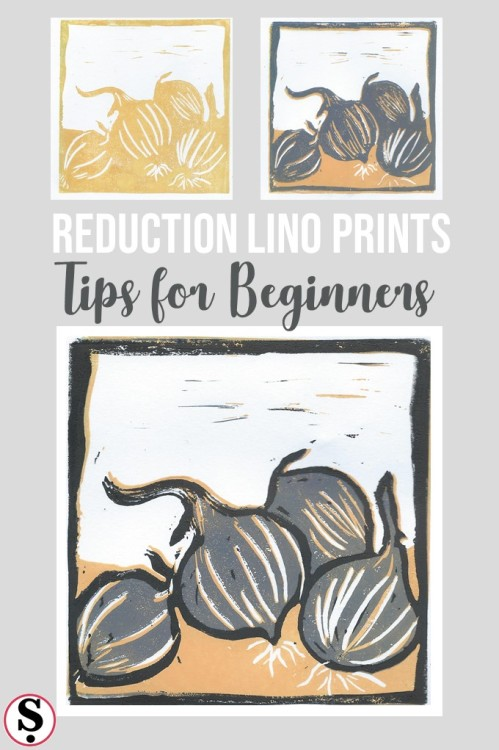 Reduction Lino Printing Beginners Tips