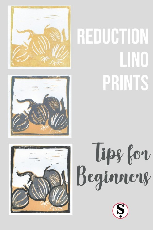 Reduction Lino Prints tips for beginners