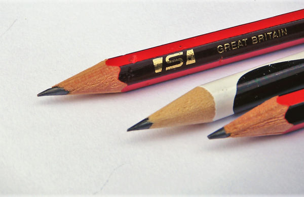 Pencils lined up for Slamseys creative summer challenge