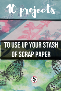 10 projects to use up your stash of scrap paper