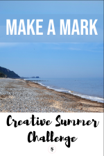 Creative Summer Challenge Make a Mark