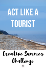 Act like a tourist for the Slamseys Creative Summer Challenge