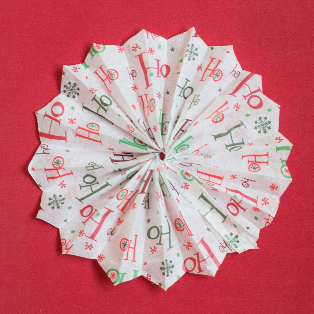 Concertina Paper Snowflake