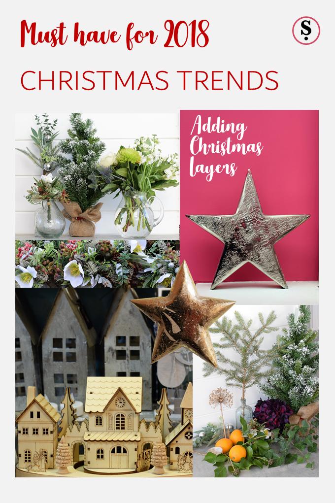 Christmas Trend 2018 Adding Christmas Layers