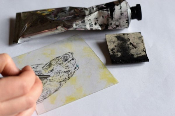 Learn drypoint etching workshop at Slamseys Printmaking
