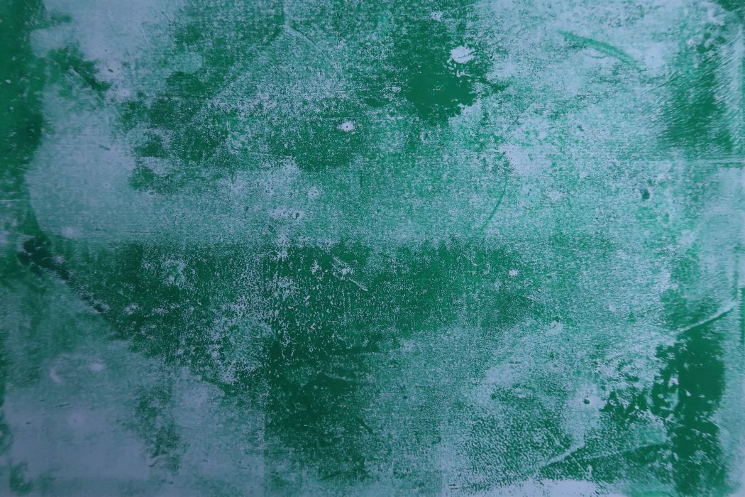 green texture with printing ink