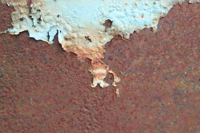 Rust on gate