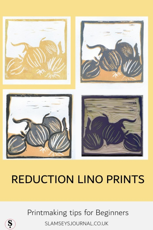 Reduction Lino Printing tips for beginners