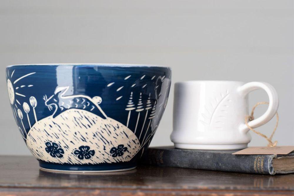 Bowl and mug by A Simple Life