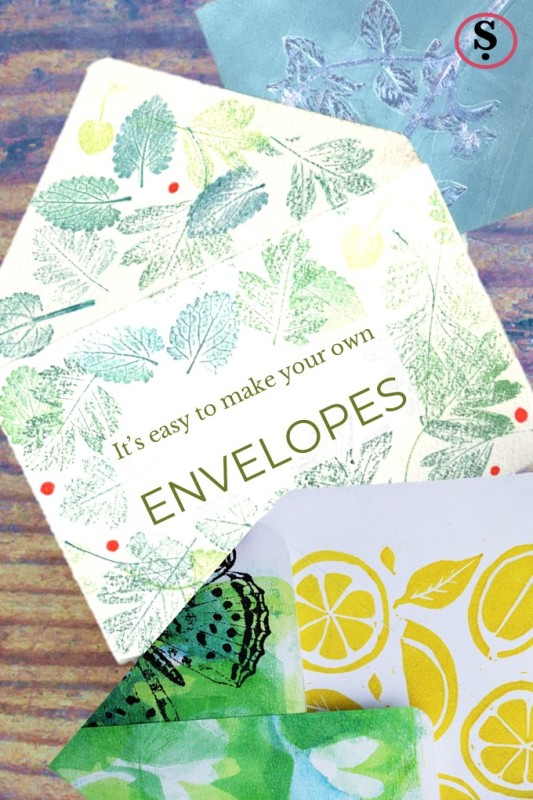 Hand made envelopes