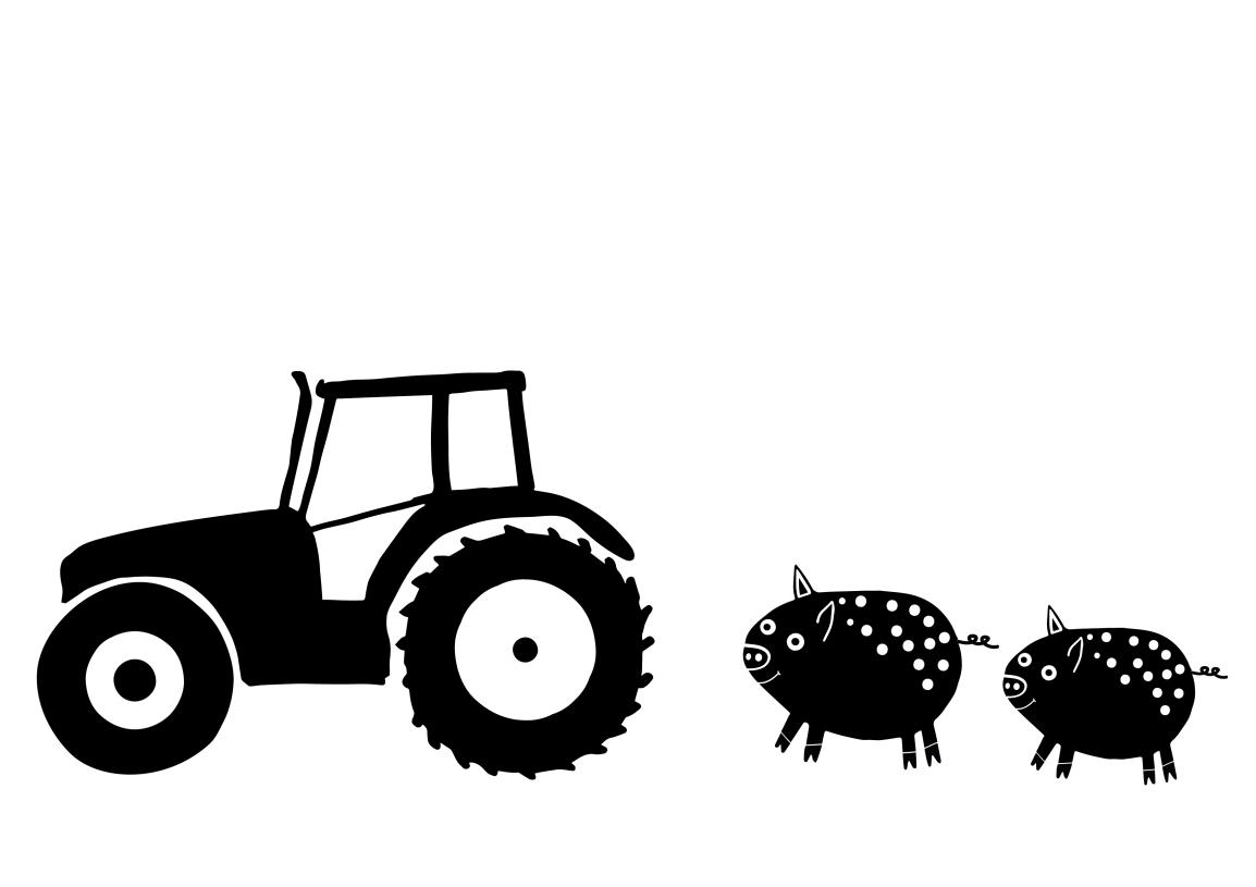 The little farmer Ready to Print Mini ScreenCollection